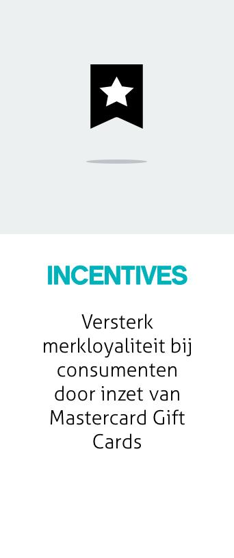 Mastercard Gift Card - Incentives