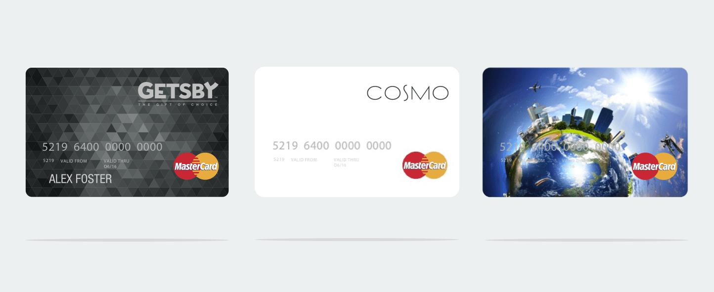 Opties   Mastercard Gift Card Opties