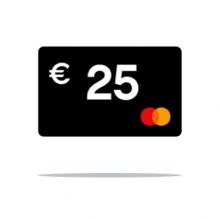 € 25 Cashback