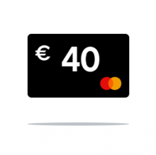 € 40 Cashback