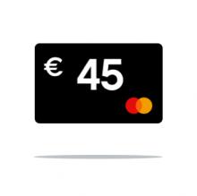 € 45 Cashback
