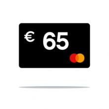 € 65 Cashback