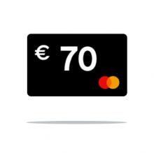 € 70 Cashback