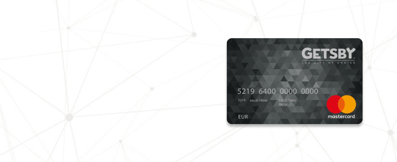 Getsby Mastercard Card | Prepaid Mastercard