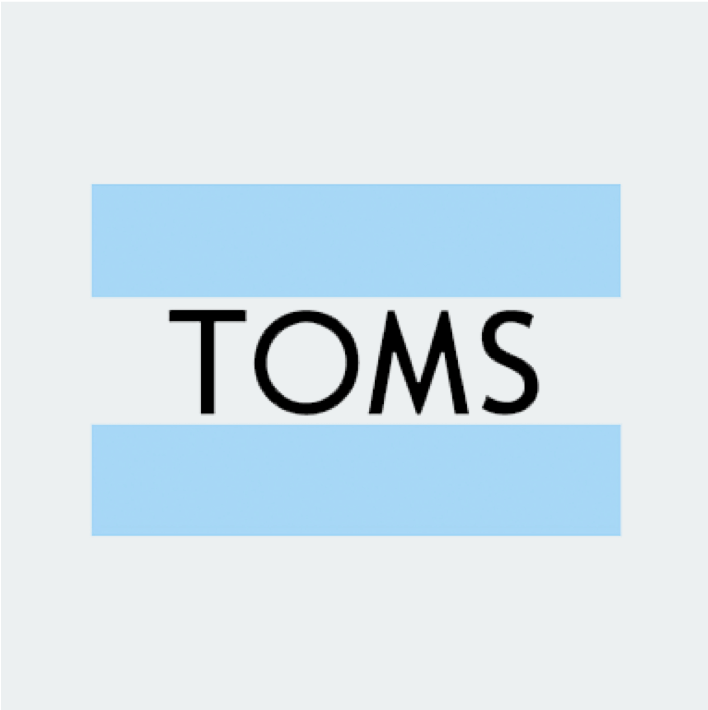 Gebruik je Getsby Mastercard Gift Card bij TOMS